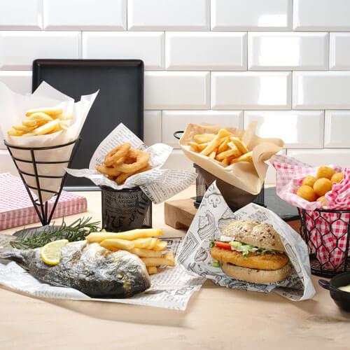 Fast-food prezentacija